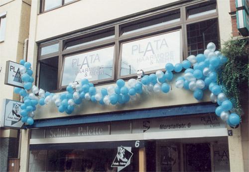 Friseur Salon Neueröffnung 1996