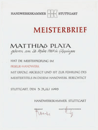 Friseur Meister Matthias Plata