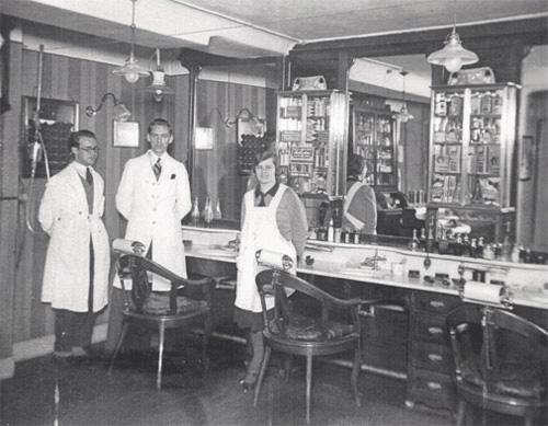 Friseur Salon 1937